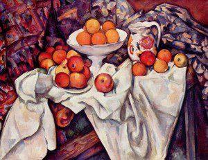 Paul Cézanne la table