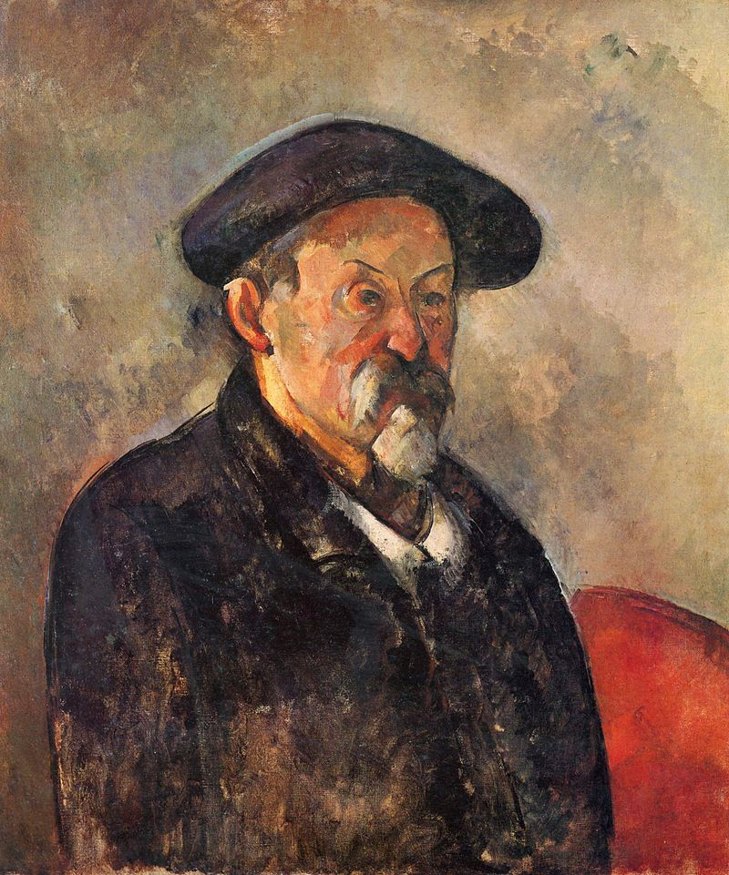 Paul Cézanne autoportrait