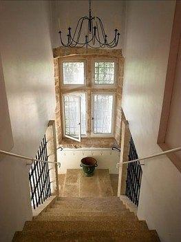 La Bastide du roi René stairs