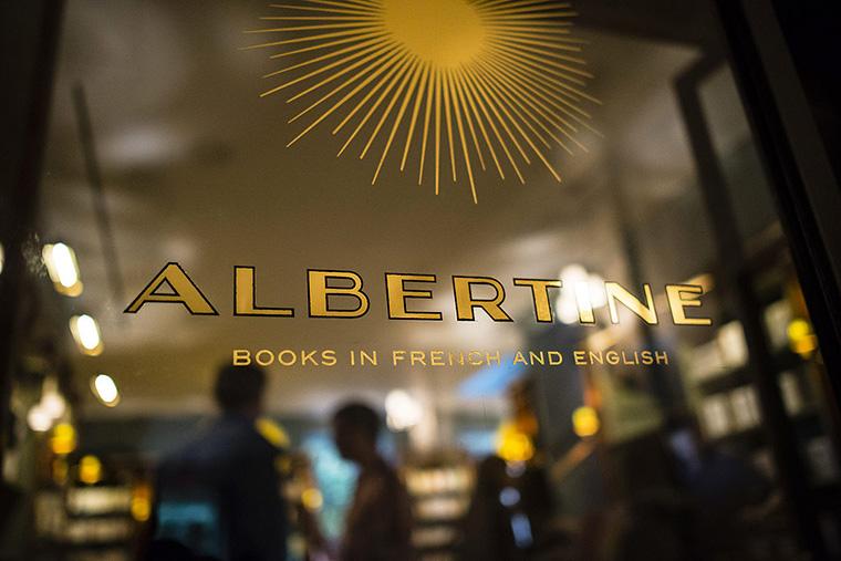 Albertine à NY