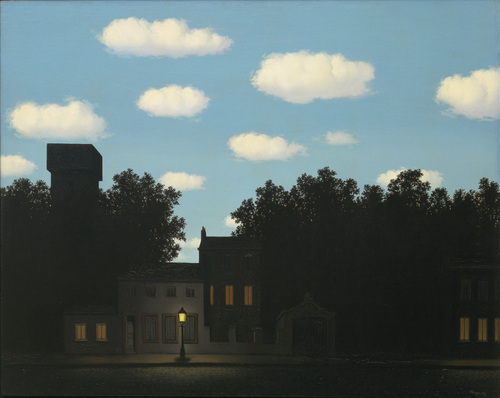 Empire of light from Magritte