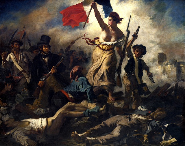 Toile de la Révolution Française