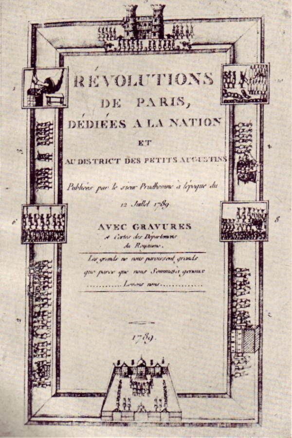 Texte de la révolution française