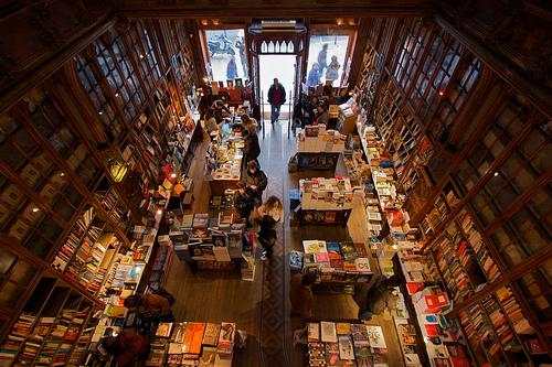 Book store interior