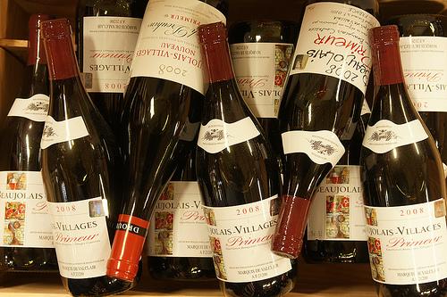 Beaujolais Nouveau Bouteilles