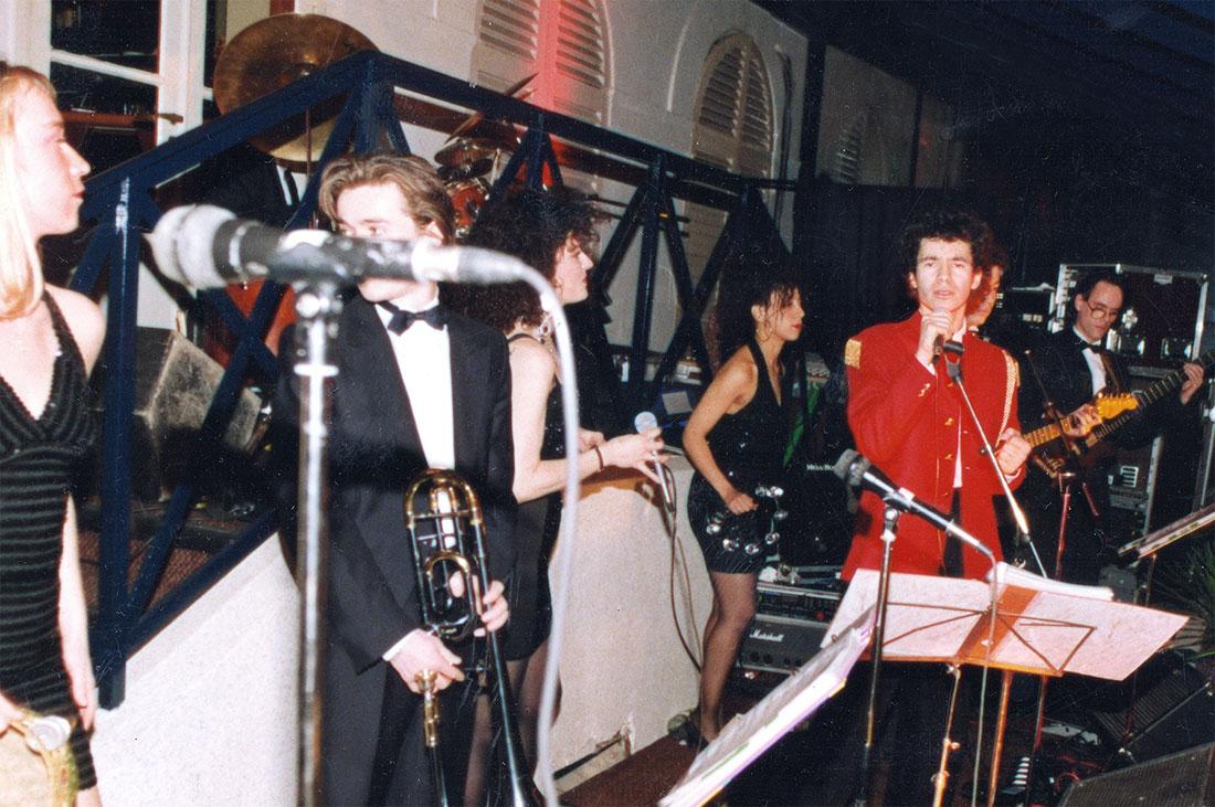 Elie de Rothschild Jr sur scène en 1992