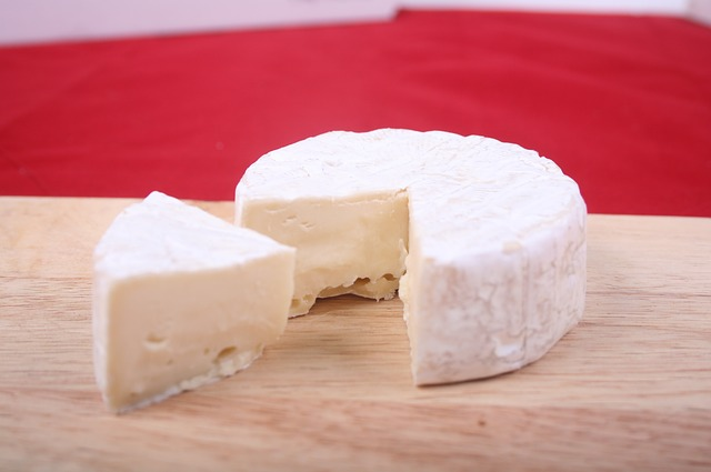 Brie cheese from France