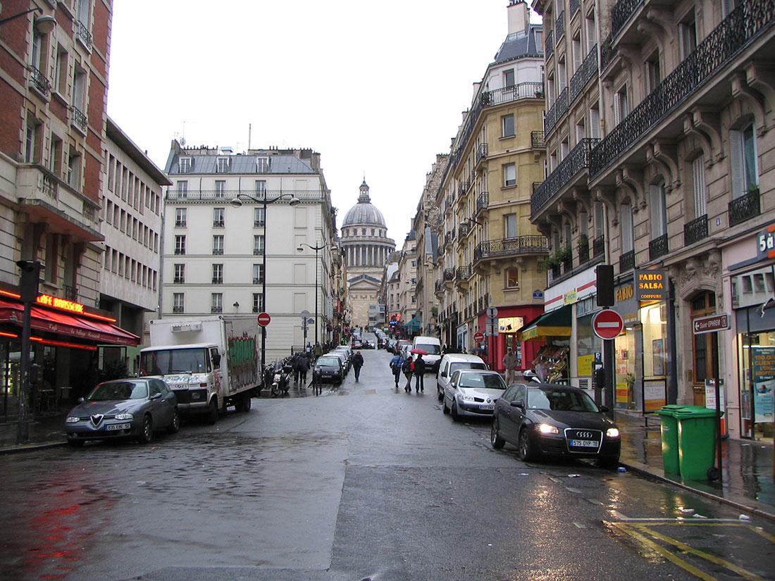 Montagne Sainte-Geneviève Paris