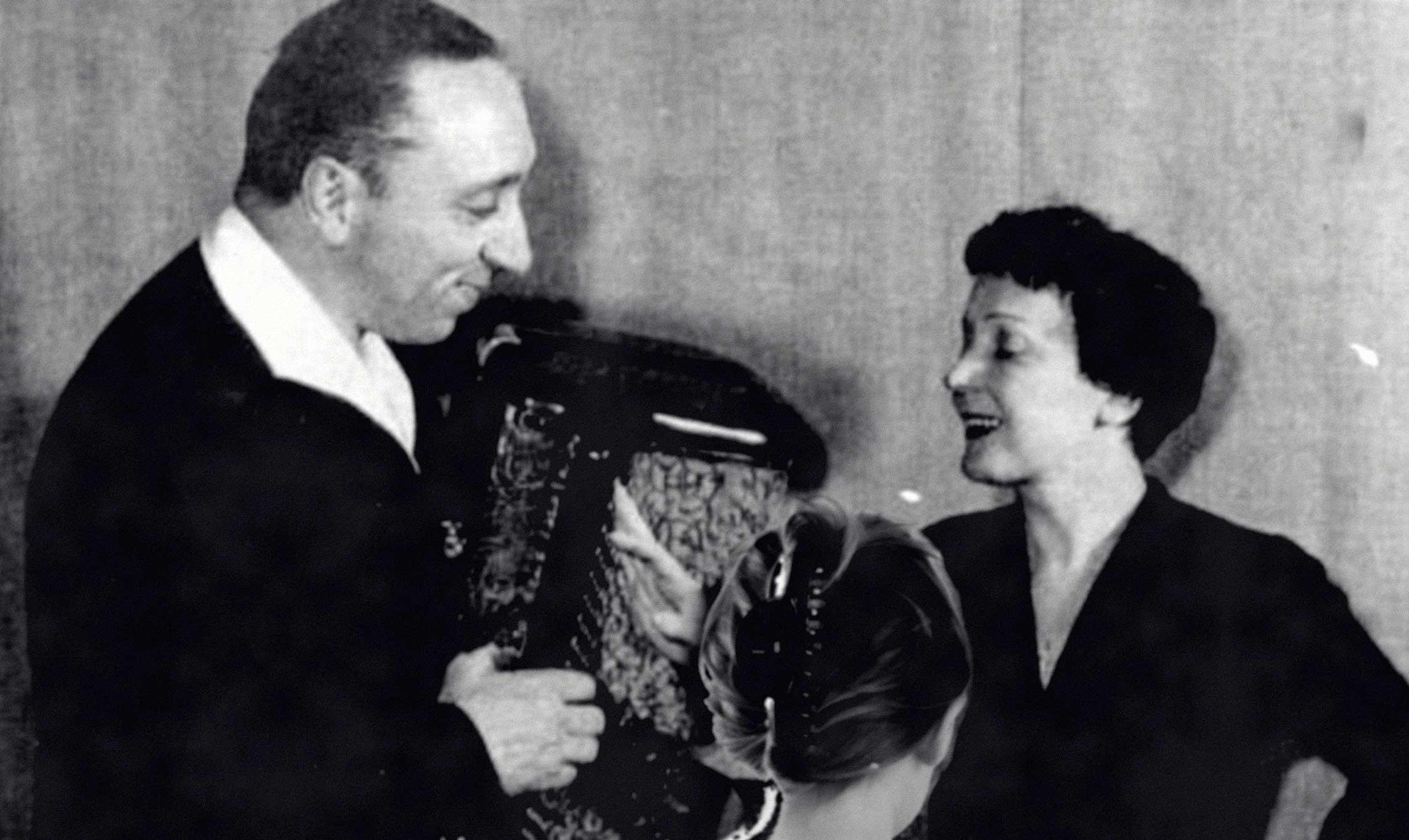 Michel Emer and Edith Piaf