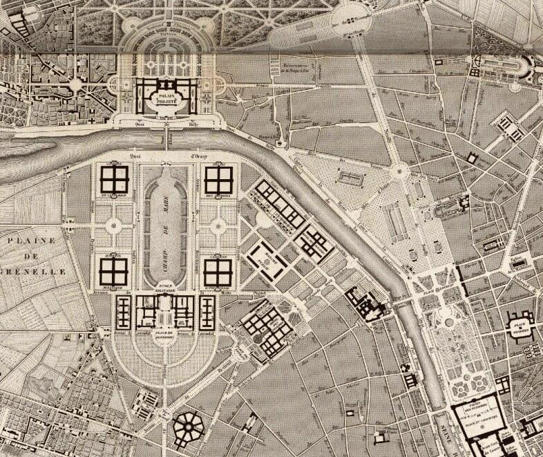 Plans de Paris